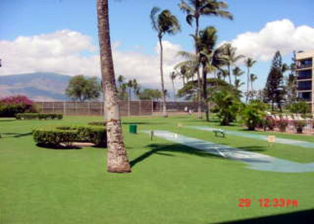 MS 118B Grounds - Maui Sunset 118B ~ 1 Bedroom, 2 Bath, Located by the Pool, Ideal for Families - Kihei - rentals