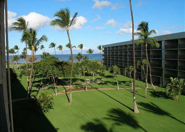MS401B-Garden View - Maui Sunset 401B  Remodeled with full kitchen and partial ocean view. - Kihei - rentals
