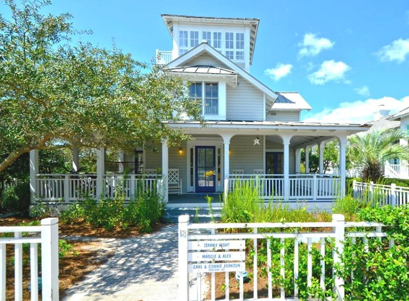 Front Exterior - Starry Night - Seaside - rentals