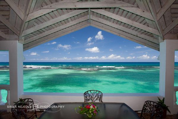 View from the verandah - Jasmin Hill - Ocho Rios 6 Bedrooms waterfront - Ocho Rios - rentals