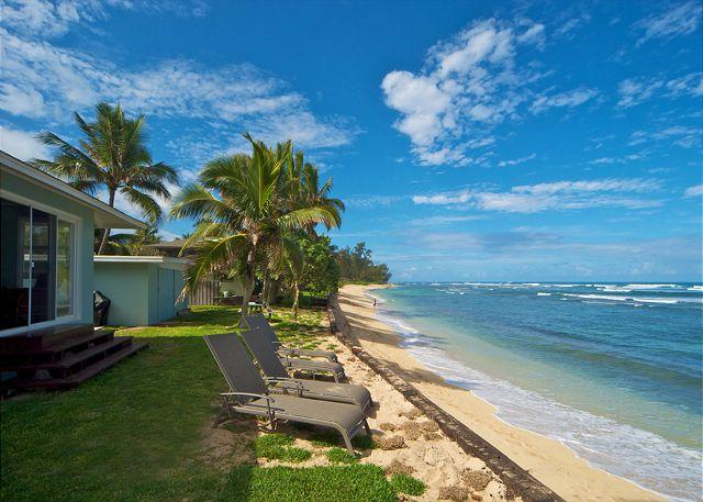 Incredible Deal: beachfront, views galore, quiet and private - Image 1 - Haleiwa - rentals