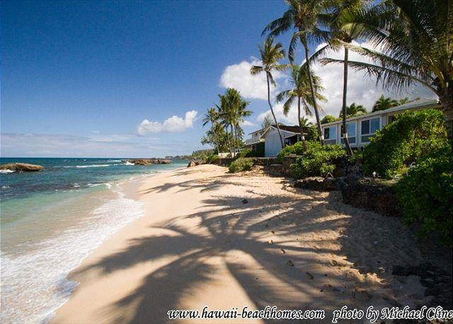 Fun in the Sun! Family Friendly, affordable, directly beach front near Waimea - Image 1 - Haleiwa - rentals