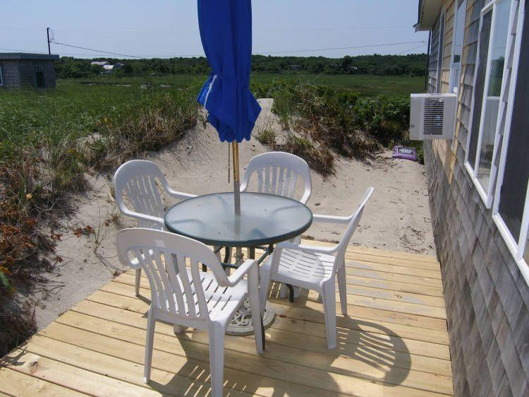 Side deck - 50 Salt Marsh Rd - East Sandwich - rentals