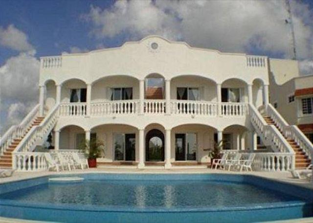 Beachfront Villa on San Francisco Beach. Private Pool. Cook Service Option - Image 1 - Cozumel - rentals
