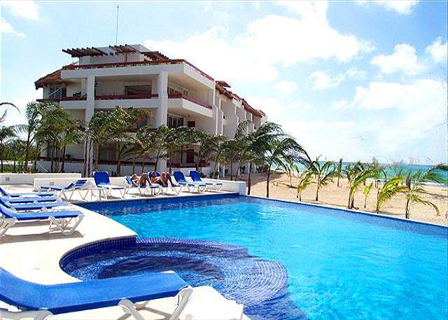 Beachfront on San Francisco Beach. Brilliant view! Near reefs, water sports. - Image 1 - Cozumel - rentals