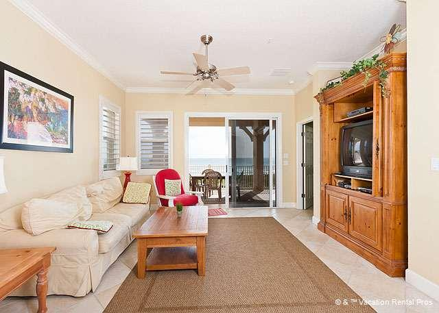 Put your feet up and relax while listening to the ocean surf or - 631 Cinnamon Beach, 3rd Floor OceanFront, Sleeps 10 Luxury Suite - Palm Coast - rentals