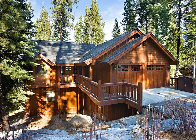 Plumas Winter Exterior - Elegant mountain home with all the amenities! - South Lake Tahoe - rentals