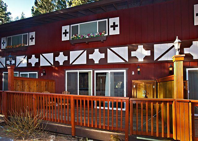 Tahoe, Sitzmark 1, outside deck - Ski condo at the base Heavenly - South Lake Tahoe - rentals