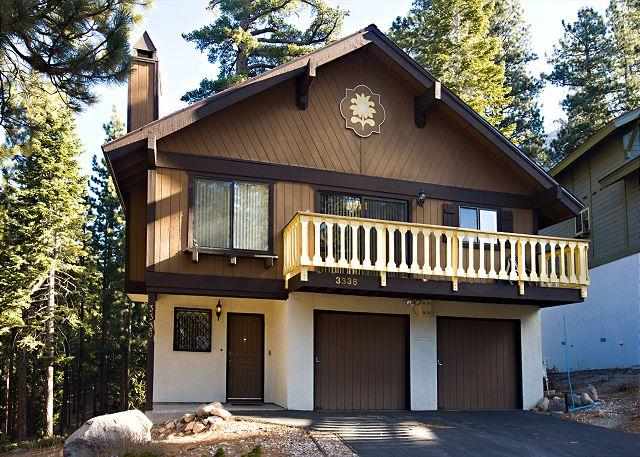 Tahoe Tyrol 3336 exterior - Spacious 3BR+Loft/2BA Chalet sleeps up to 10 - South Lake Tahoe - rentals