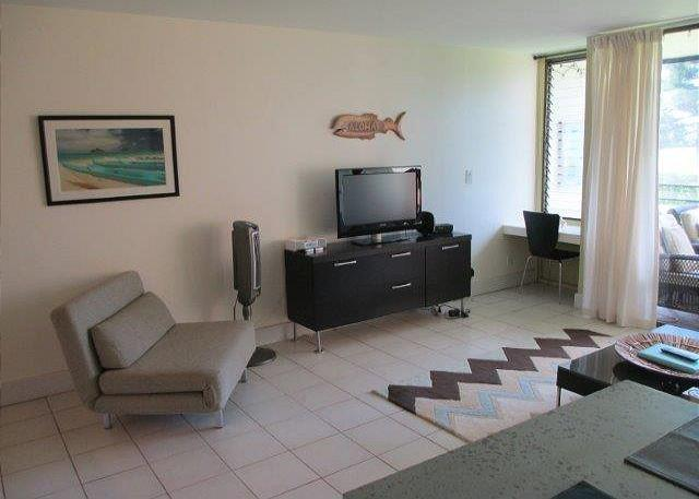 Living Room - Turtle Bay 013 West *** Available for 30 day rentals. Please call. - Kahuku - rentals