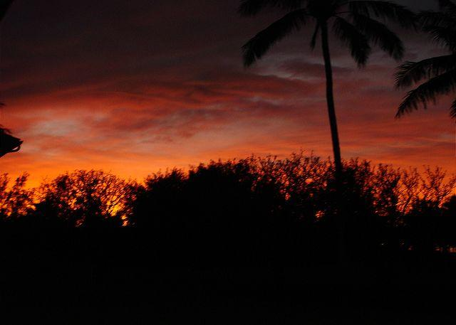 Sunset from the Lanai - Turtle Bay 057 West ***Available for 30 day renal - Kahuku - rentals