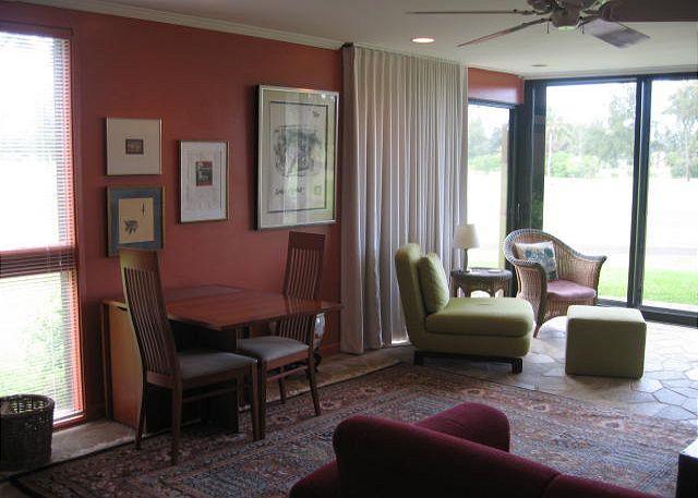 Living Room - Turtle Bay 075 West *** 30 night minimum - Kahuku - rentals