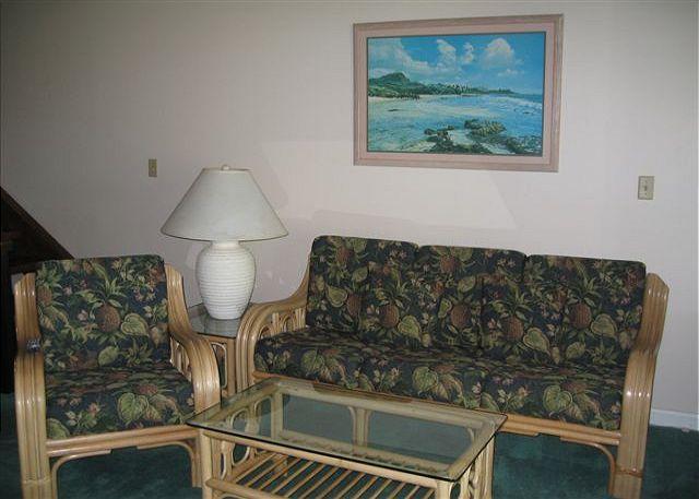 Living Room - Turtle Bay 081 West ** - Kahuku - rentals