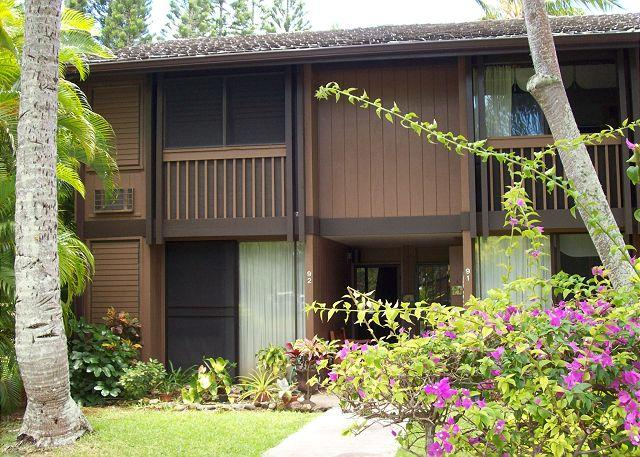 Entry to Unit - Turtle Bay 092 West ** Available for 30 day rental, please call - Kahuku - rentals
