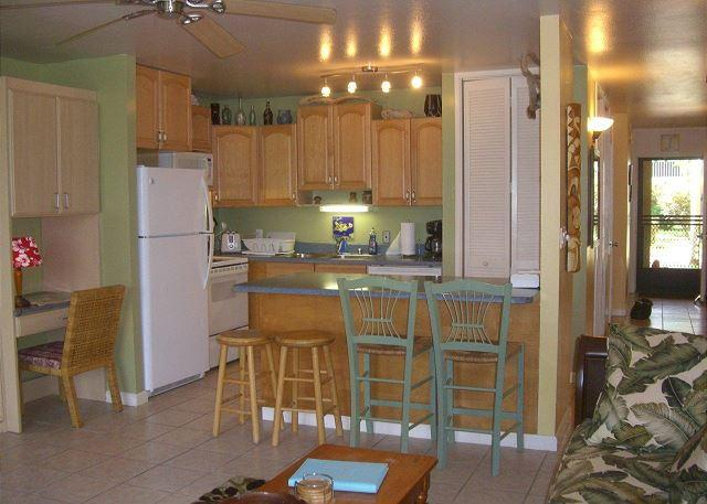 Kitchen Area - Turtle Bay 105 East *** Available for 30 day rental, please call - Kahuku - rentals