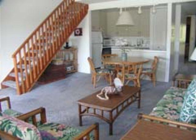Livingroom/Kitchen - Turtle Bay 116 East **  Available for 30 day rental, please call - Kahuku - rentals