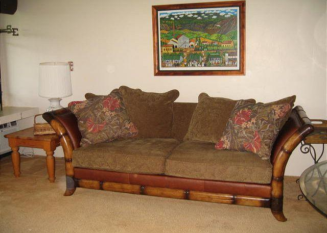 Living Room - Turtle Bay 148 East **Available for 30 day rental, please call. - Kahuku - rentals