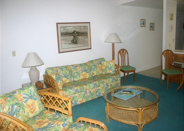Livingroom/Kitchen - Turtle Bay 151 West **Available for 30 day rentals, please call. - Kahuku - rentals