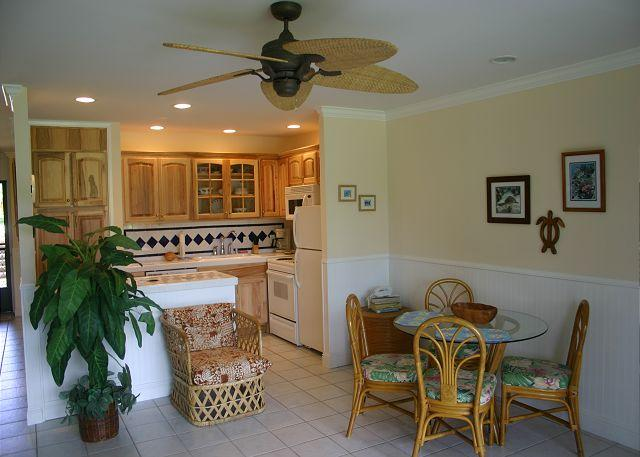 Kitchen/Dining area - Turtle Bay 168 West ***  Available for 30 day rental, please call - Kahuku - rentals