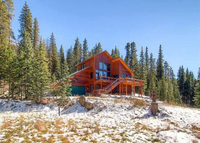 Aspen Vista Lodge in Winter Breckenridge Luxury Home Rentals - Aspen Vista Lodge Luxury Home Hot Tub Breckenridge House Rental Lodging - Breckenridge - rentals
