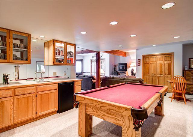 Brookside House Family Rec Room Breckenridge Lodging - Brookside House Private Home Hot Tub Breckenridge Colorado Vacation Rental - World - rentals