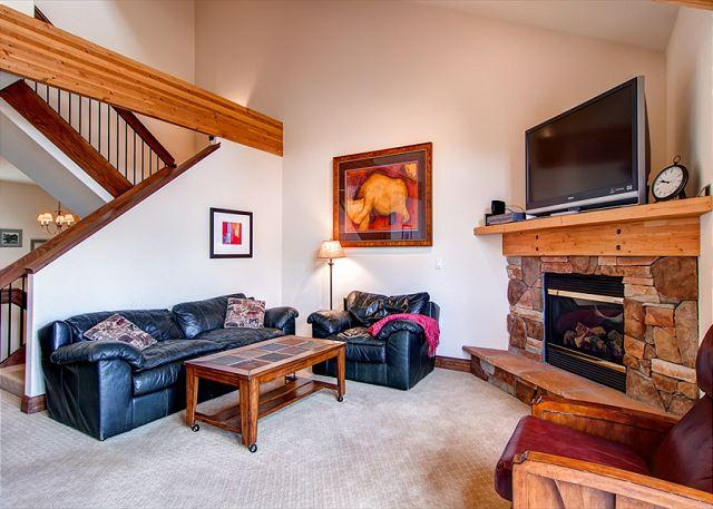 Marina Park Upstairs Living Room Frisco Lodging - Marina Park 19D Townhome Shared HT Downtown Frisco Colorado Vacation Rentals - World - rentals