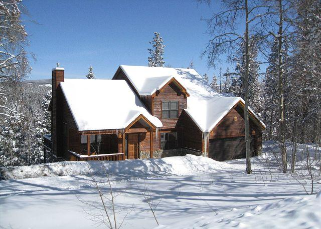 Range View House in Winter Breckenridge Lodging & Vacation Renta - Range View House Home Hot Tub Breckenridge Colorado House Rental - World - rentals