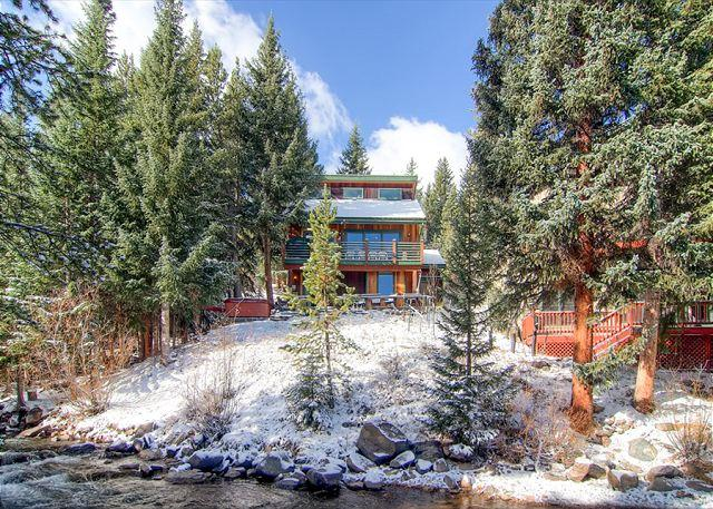 Rapids Retreat in Winter Breckenridge Lodging & Home Rentals - Rapids Retreat Home Hot Tub Breckenridge Colorado House Rental - Breckenridge - rentals