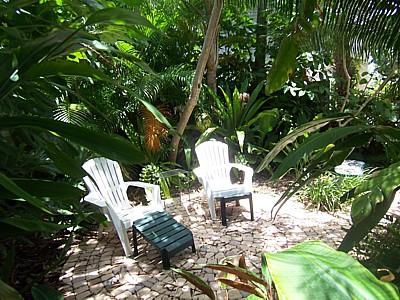 Private Sitting Area - 620 Rose Street - Anna Maria - rentals