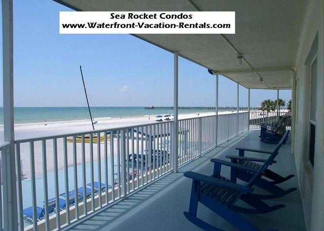 Sea Rocket  #3 ground floor condo - Beach, kitchen, BBQ, Shuffleboard, WiFi - Image 1 - North Redington Beach - rentals