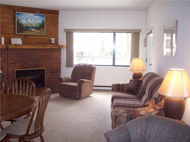 Conveniently Located Mountainwood Condominiums 2 Bedroom Condominium - MW103 - Image 1 - Breckenridge - rentals