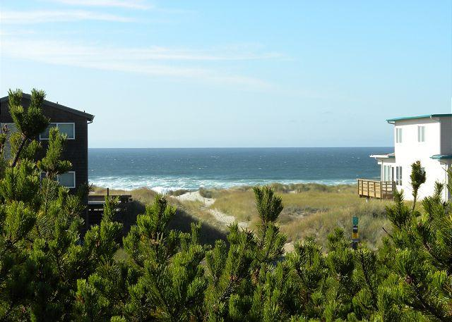 Chinookery View of Manzanita Beach - CHINOOKERY with decks and oceanviews in MANZANITA - Manzanita - rentals