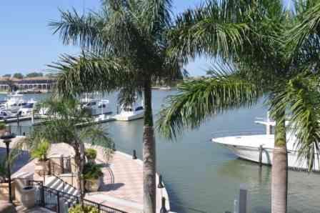 View from porch - Esplanade, Building 3, Unit 204 - ESP3204 - Marco Island - rentals
