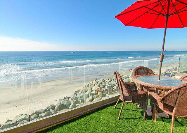 Oceanside Beach Rental - 7br/7ba Luxury Oceanfront Retreat, Oceanview Decks, Spa, BBQ A/C Equipped - Oceanside - rentals