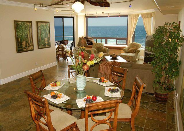 Luxury Oceantfront Condo, 6br/5ba, Spa/Rooftop deck, Large Kitchen P908-3R - Image 1 - Oceanside - rentals