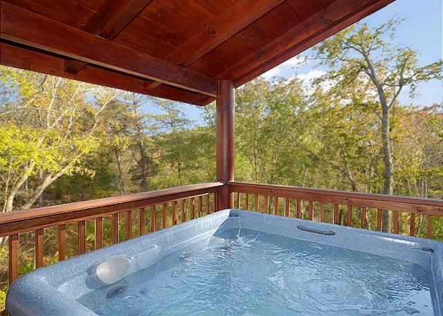 Luxury 2 bedroom cabin in resort setting.  Pet Friendly! - Image 1 - Gatlinburg - rentals