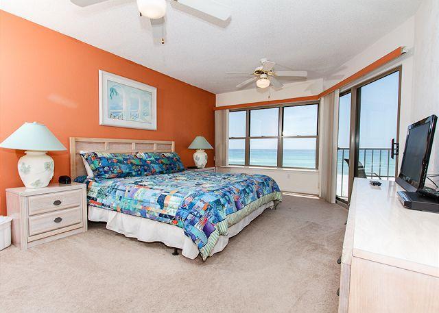 Master Bedroom - ETW 2006:incredible views,sleeps 4, FREE BEACH CHAIRS, GOLF, MOVIES, Internet - Fort Walton Beach - rentals