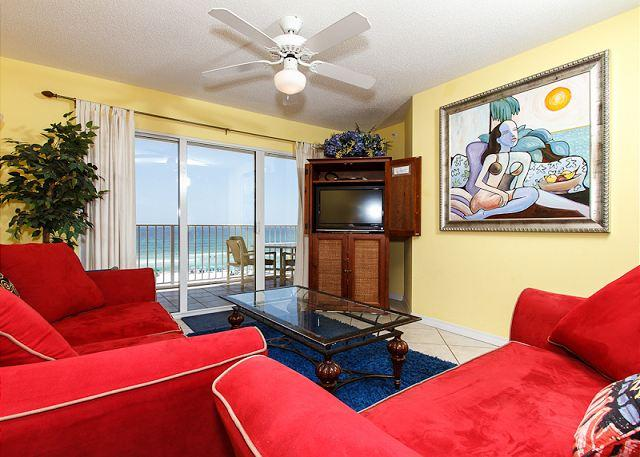 Living Room - GD 416:PACK YOUR FLIP FLOPS and UNWIND at the beach! Lavish 2BR condo - Fort Walton Beach - rentals
