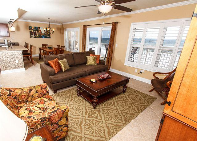 Everything is this room is BRAND NEW!!!the great layout offers w - CONDO #4006: COMPLETELY REMODELED IN 2013 beach front condo - GORGEOUS! - Fort Walton Beach - rentals