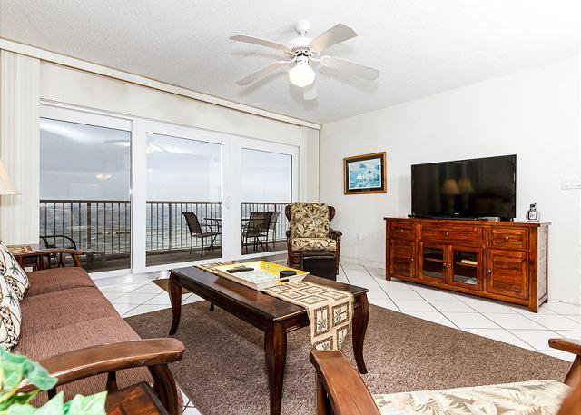 The view of our beautiful coastal beaches does more than take yo - #6003:UPDATED BEACH FRONT condo - free WIFI, Beach service, golf, snorkeling - Fort Walton Beach - rentals