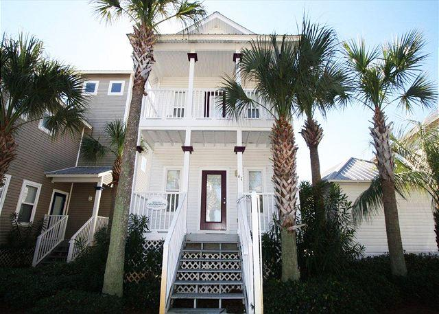 Pet Friendly in Gulfside Cottages, Across from Pool/Short Walk to Beach! - Image 1 - Miramar Beach - rentals