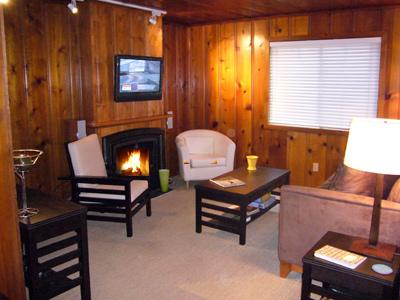 Fairy Circle Cottage, Cozy Living Room, Gas Fireplace - Fairy Circle Cottage - Guerneville - rentals