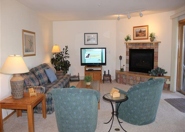 BR215G Comfy Condo w/Great Views, Wifi, Fireplace, Clubhouse & Carport - Image 1 - Silverthorne - rentals