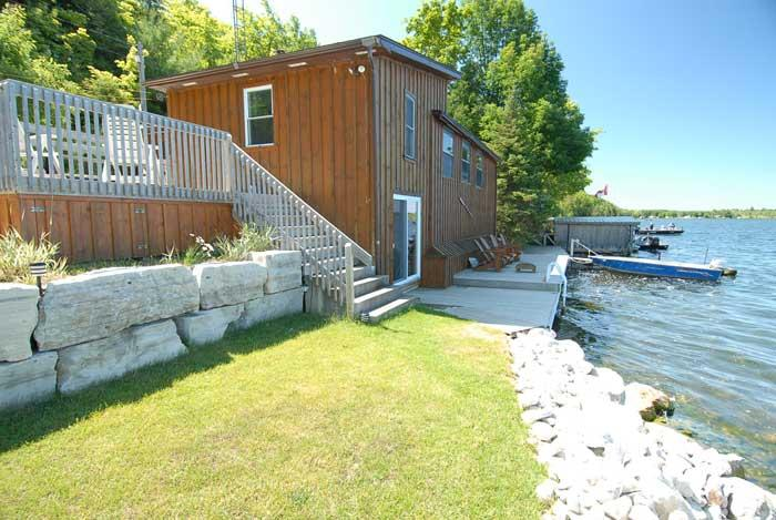 Chesley Lake cottage (#202) - Image 1 - Sauble Beach - rentals
