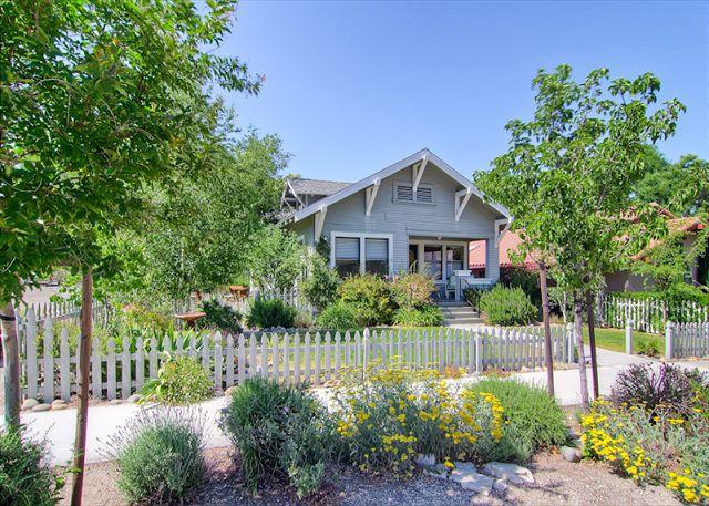 Exterior - Poe House--Romantic Getaway or Perfect Family Gathering Place - Paso Robles - rentals