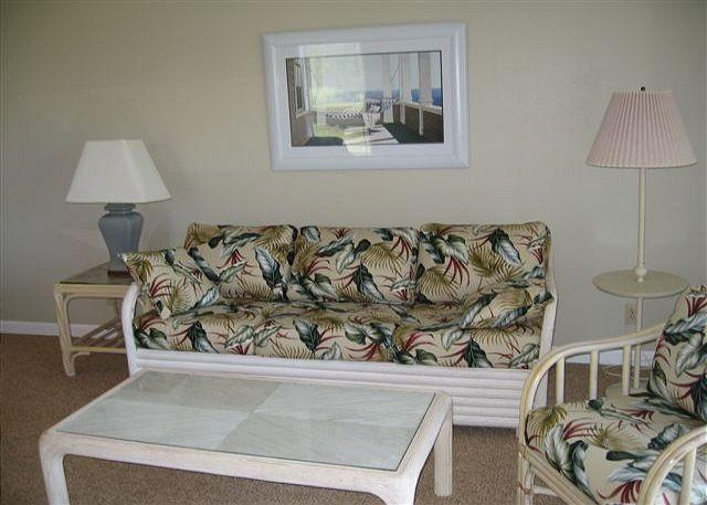 Living Room - Turtle Bay 119 East **  Available for 30 day rental, please call - Kahuku - rentals