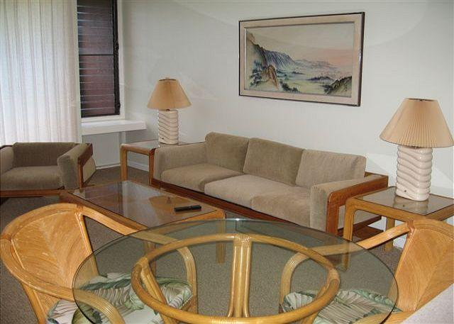 Living Room/dining area - Turtle Bay 121 East **  Available for 30 day rental, please call - Kahuku - rentals