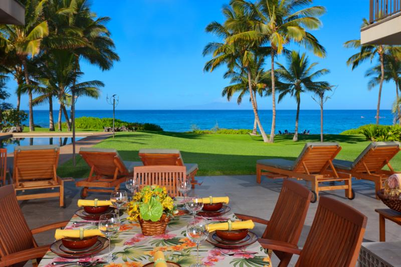 Wailea Sunset Estate - Plenty of Lounging and Outdoor Living Areas - Wailea Sunset Estate - Wailea - rentals