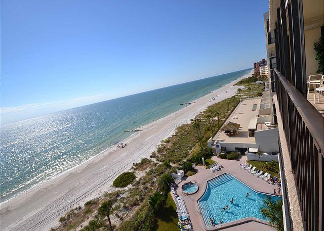 Ocean Sands 908  Updated corner condo with Gulf front balcony & free WiFi! - Image 1 - Madeira Beach - rentals