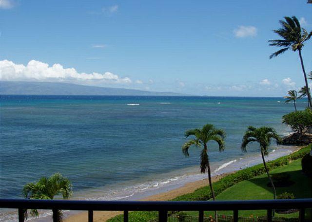 View - B403 Hololani Oceanfront Resort - Lahaina - rentals